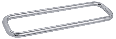 """CRL Brushed Satin Chrome 18"""" BM Series Back-to-Back Towel Bar Without Metal Washers CRL BMNW18X18BSC"""