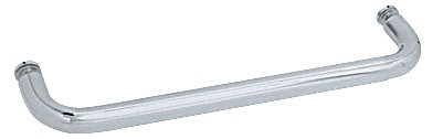 20 inch Brushed Satin Chrome (BM Series) Single-Sided Towel Bar without Metal Washers - CRL BMNW20BSC