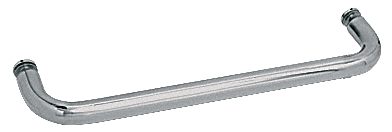 "CRL Polished Nickel 20"" BM Series Single-Sided Towel Bar Without Metal Washers CRL BMNW20PN"