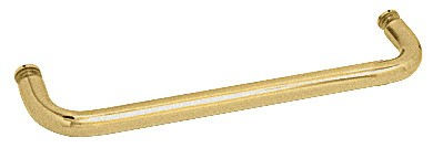 20 inch Satin Brass (BM Series) Single-Sided Towel Bar without Metal Washers - CRL BMNW20SB