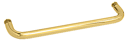"""CRL Polished Brass 22"""" BM Series Single-Sided Towel Bar Without Metal Washers CRL BMNW22BR"""