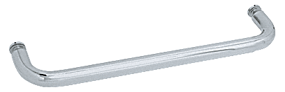 """CRL Brushed Satin Chrome 22"""" BM Series Single-Sided Towel Bar Without Metal Washers CRL BMNW22BSC"""