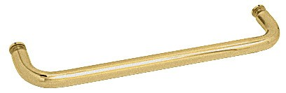22 inch Satin Brass (BM Series) Single-Sided Towel Bar without Metal Washers - CRL BMNW22SB