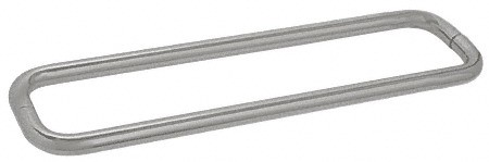 30 inch Satin Nickel (BM Series) Back-to-Back Tubular Handle without Metal Washers - CRL BMNW30X30SN