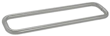 """CRL Satin Nickel 24"""" BM Series Back-to-Back Towel Bar Without Metal Washers CRL BMNW24X24SN"""