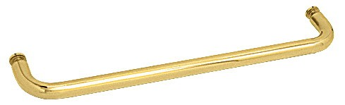 28 inch Brass (BM Series) Single-Sided Towel Bar without Metal Washers - CRL BMNW28BR