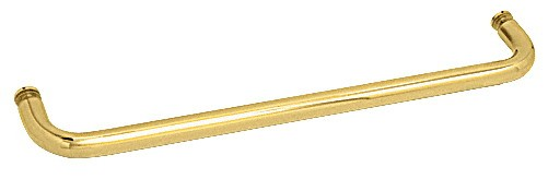 30 inch Brass (BM Series) Single-Sided Towel Bar without Metal Washers - CRL BMNW30BR