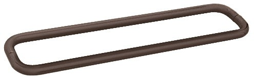 30 inch Oil Rubbed Bronze (BM Series) Back-to-Back Tubular Handle without Metal Washers - CRL BMNW30X30ORB