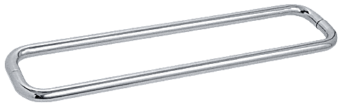 """CRL Polished Chrome 30"""" BM Series Back-to-Back Towel Bar Without Metal Washers CRL BMNW30X30CH"""