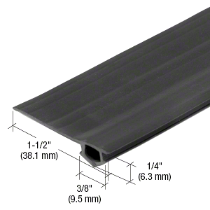 CRL Gray Vinyl Bug Strip in a 1000' Roll CRL BS3109M