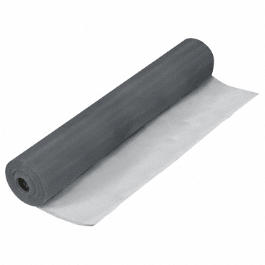 "CRL Charcoal Aluminum 34"" Screen Wire - 100' Roll CRL CA34"
