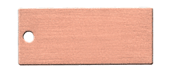 CRL Brushed Copper Color Chip CRL CH1PBC0