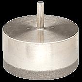 "CRL 4"" DCD Series Straight Shank Electro-Formed Diamond Drill CRL DCD4"