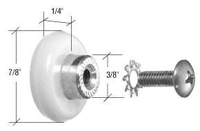 """CRL """"CK"""", """"DK"""" and """"EK"""" Series Attachment Rollers CRL DKR78"""