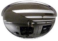 18 inch Diameter 180 Degrees Acrylic Half Dome Mirror - CRL DMH18