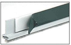 Satin Anodized Pile Weatherstrip for Double Door Rails 35-3/4 inch - CRL DRWSAD