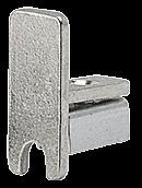 CRL Chrome End Cap for Aluminum DV146 H-Bar CRL DV148CH