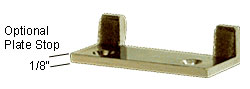 Brass Optional Plate Stop for EH96 - CRL EH106