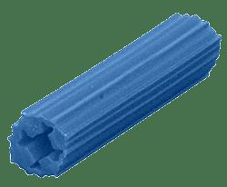 "CRL 5/16"" Hole, 1"" Length 14-16 Screw Expanding Plastic Blue Screw Anchors CRL EXP2009"