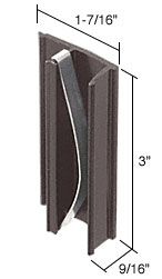Black Sliding Window Pull and Latch for International Roller King-Queen Windows - CRL F2522