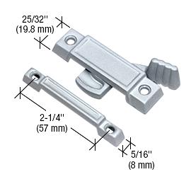 "CRL Chrome Window Sash Lock with 2-1/4"" Screw Holes CRL F2531"