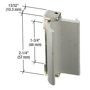 CRL Aluminum Sliding Window Pull and Latch for Keller Industry Windows CRL F2572