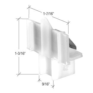 CRL Window Channel Balance Top Guides - Bulk 50/Pk CRL FS103B