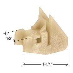 CRL Window Channel Balance Bottom Guides - Bulk 50/Pk CRL FS152B