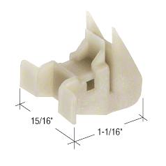 CRL Window Channel Balance Bottom Guides - Bulk 50/Pk CRL FS153B