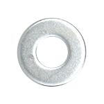 """CRL Zinc 1/4""""-20 Flat Washers for 3/4"""" and 1"""" Diameter Standoffs CRL FW14Z"""