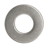 "CRL Stainless 3/8""-16 Flat Washer for 1-1/2"" and 2"" Diameter Standoffs CRL FW38S"
