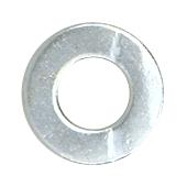 """CRL Zinc 3/8""""-16 Flat Washer for 1-1/2"""" and 2"""" Diameter Standoffs CRL FW38Z"""