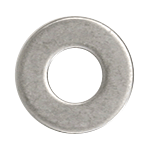 "CRL Stainless Steel 5/16""-18 Flat Washers for 1-1/4"" Diameter Standoffs CRL FW516S"