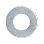 """CRL Zinc 5/16""""-18 Flat Washers for 1-1/4"""" Diameter Standoffs CRL FW516Z"""