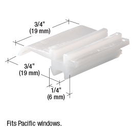 CRL Sliding Window Top Guide for Pacific Windows CRL G3063