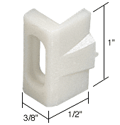 """CRL 3/8"""" Wide Nylon Window Guide and Bumper for Likit Windows CRL G3079"""