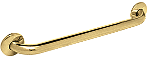 "CRL Polished Brass 18"" Grab Bar CRL GB18BR"