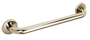 "CRL Polished Nickel 18"" Grab Bar CRL GB18PN"