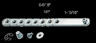 CRL Universal Louver Window Operator Break-Off Link CRL H3552