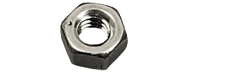 "CRL Stainless Steel 1/4""-20 Thread Size Hex Nut CRL HN1420S"