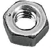 """CRL Zinc 3/8""""-16 Hex Nut CRL HN3816Z"""