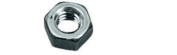 "CRL Zinc 5/16""-18 Thread Size Hex Nut CRL HN51618Z"