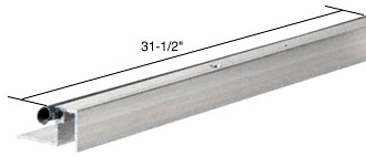 31-1/2 inch Head and Sill Weatherstrip - CRL HSW31
