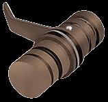 CRL Oil Rubbed Bronze 135 Degree Knob Latch CRL LAT1350RB