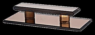 CRL Bronze Acrylic Large Stick-On Mirror Pull CRL LMPB6