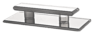 CRL Clear Acrylic Large Stick-On Mirror Pull CRL LMPC5