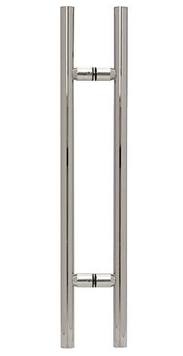 """CRL Polished Chrome 24"""" Ladder Style Pull Handle CRL LP24CH"""
