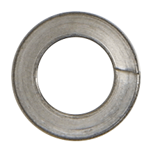 """CRL Stainless 3/8""""-16 Lock Washers for 1-1/2"""" and 2"""" Diameter Standoffs CRL LW38S"""