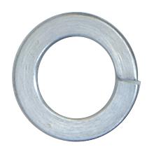 """CRL Zinc 3/8""""-16 Lock Washers for 1-1/2"""" and 2"""" Diameter Standoffs CRL LW38Z"""
