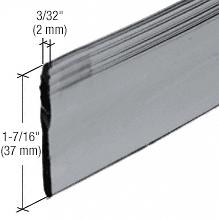 """CRL 36"""" Gray Heavy Gauge Shower Door Bottom Seal and Wipe CRL M6092"""